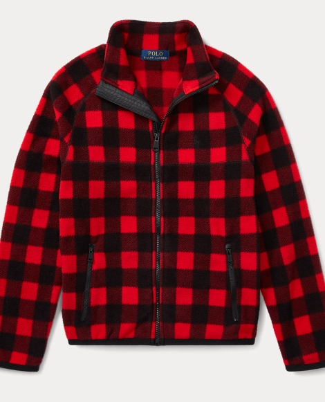 Buffalo Check Fleece Jacket