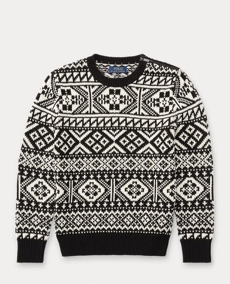 Nordic Merino-Cotton Sweater