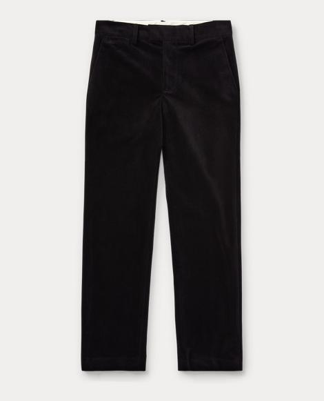 Slim Fit Velvet Pant