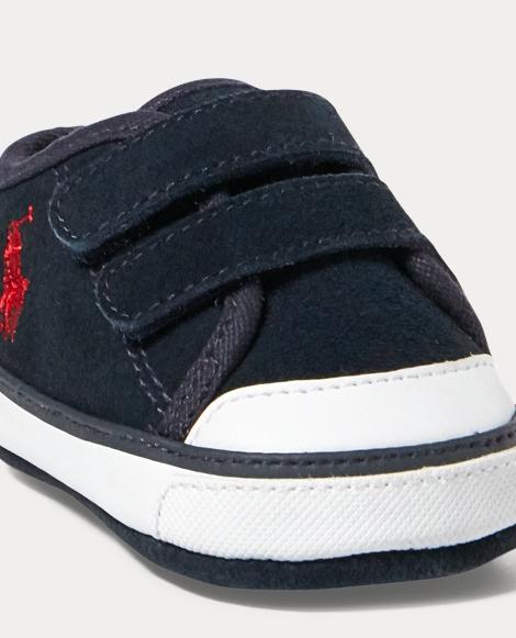 Suede Low-Top EZ Sneaker