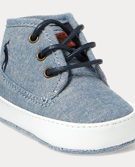 Waylon Cotton Mid-Top Sneaker