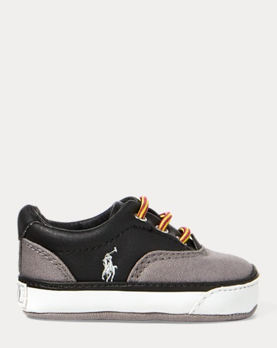 Vaughn Leather-Cotton Sneaker