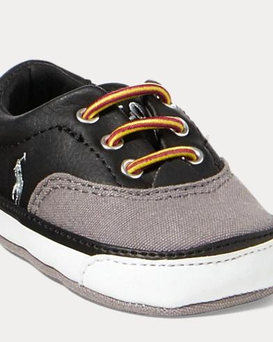 Vaughn Leather-Cotton Sneaker