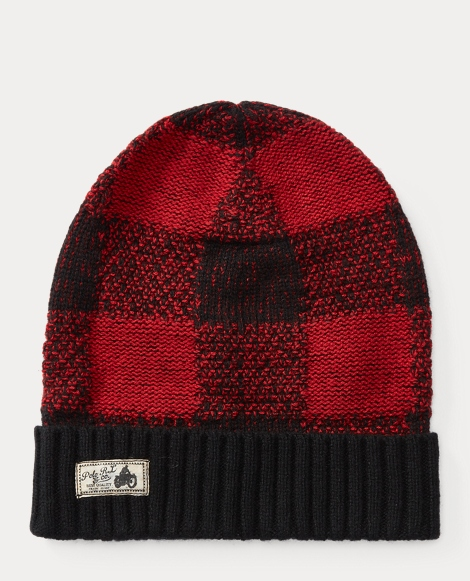 Buffalo Plaid Wool-Blend Hat
