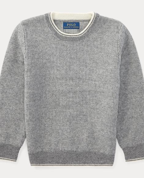 Wool-Cashmere Crewneck Sweater