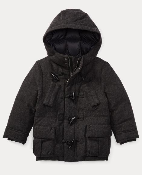 Wool-Blend Down Jacket