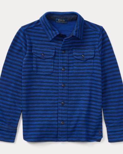 Striped Cotton Workshirt