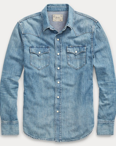 Chemise western coupe standard