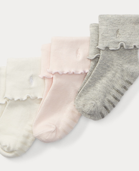 Lettuce-Edge Sock 3-Pack