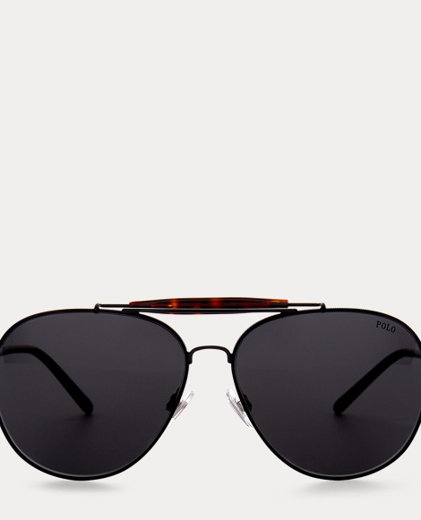 Classic Metal Pilot Sunglasses