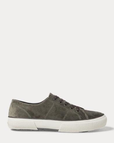 Jolie Velvet Low-Top Sneaker