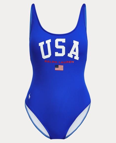USA One-Piece Swimsuit