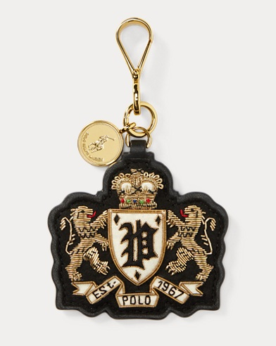 Bullion Double-Lion Bag Charm