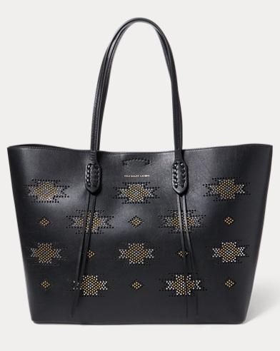 Microstud Nappa Leather Tote