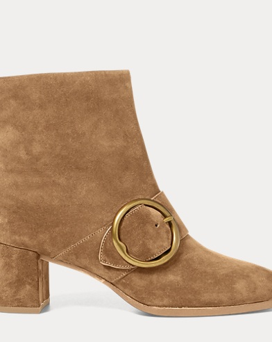 Maddie Suede Ankle Boot