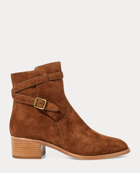 Mollie Suede Ankle Boot