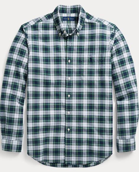 The Iconic Plaid Oxford Shirt