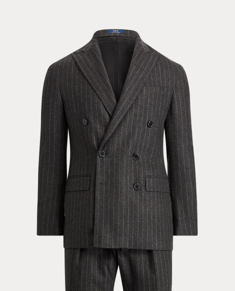 Morgan Striped Flannel Suit