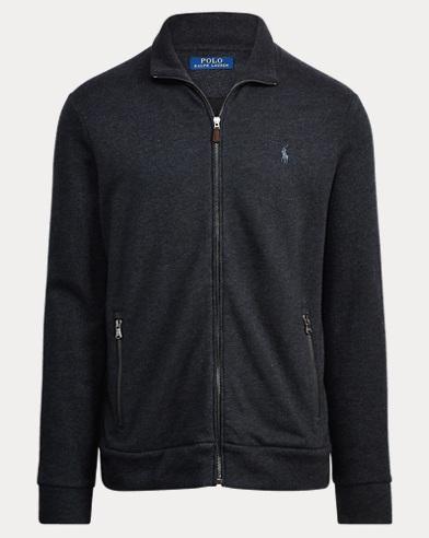 Cotton-Blend-Fleece Jacket