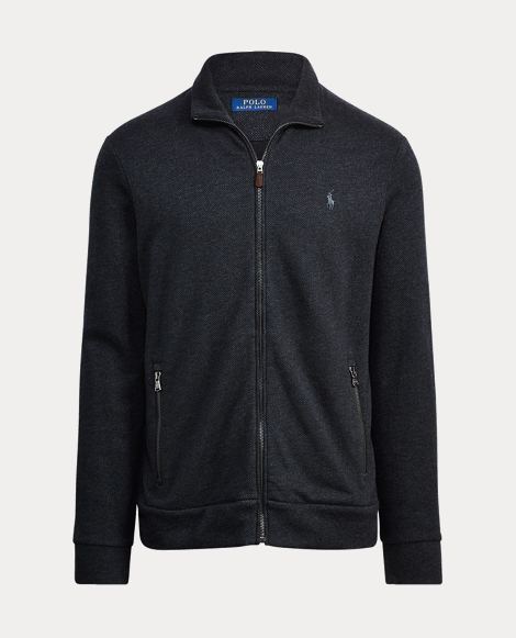 Cotton-Blend-Fleece Jacket