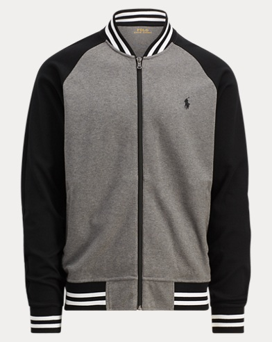 Cotton Interlock Bomber Jacket