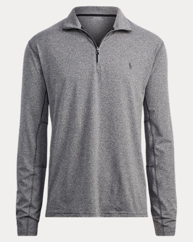 Stretch Jersey Pullover