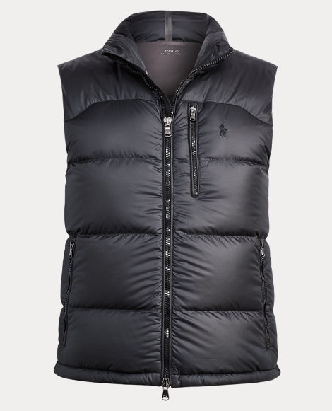 Quilted Ripstop Down Vest