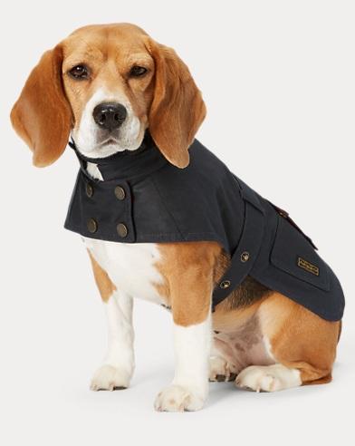 Coated Cotton Dog Coat