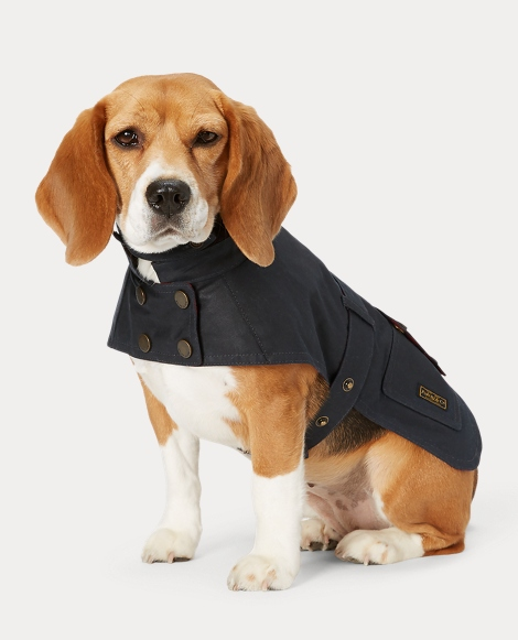 Coated Cotton Dog Coat