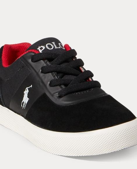 Hanford Suede-Canvas Sneaker