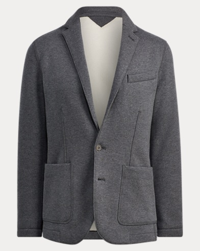 Cotton Fleece Sport Coat