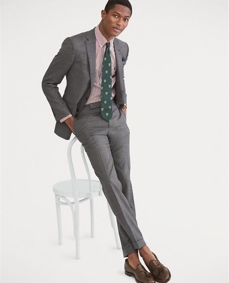 Connery Sharkskin Wool Suit