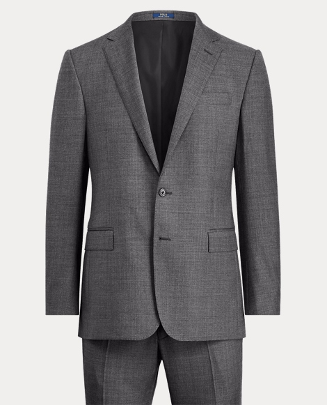 Connery Sharkskin Wool Suit