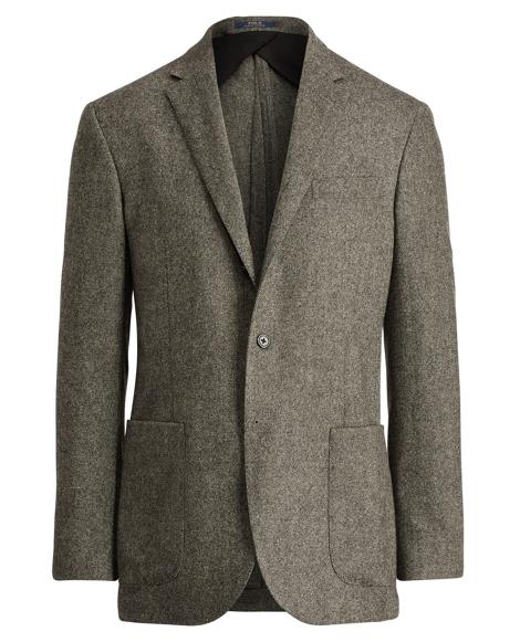 Polo Basket-Weave Suit Jacket