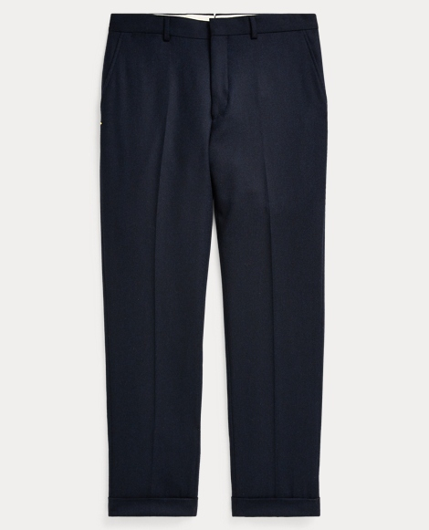 Polo Brushed Wool Suit Trouser