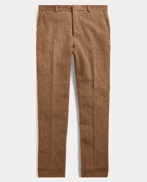 Polo Herringbone Suit Trouser