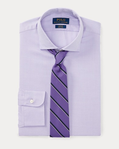 Slim Fit Dobby Dress Shirt