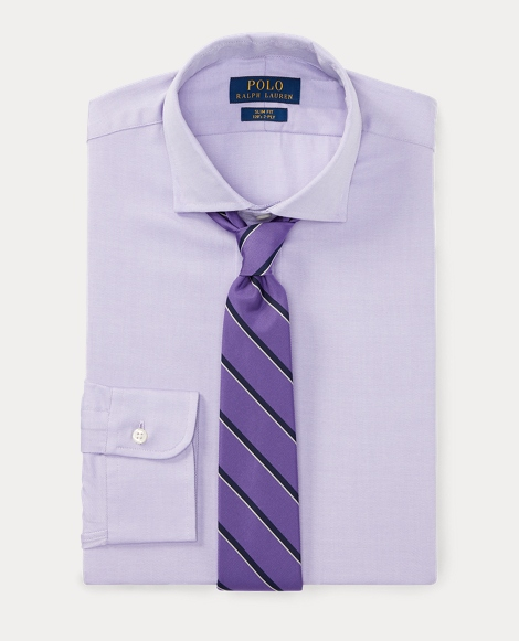 Slim Fit Cotton Dobby Shirt