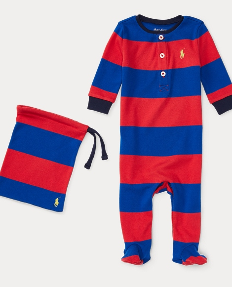 Striped Cotton Pajamas