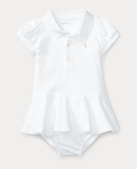 Mesh Polo Dress & Bloomer