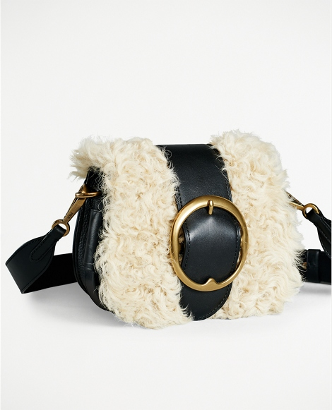Shearling Lennox Bag