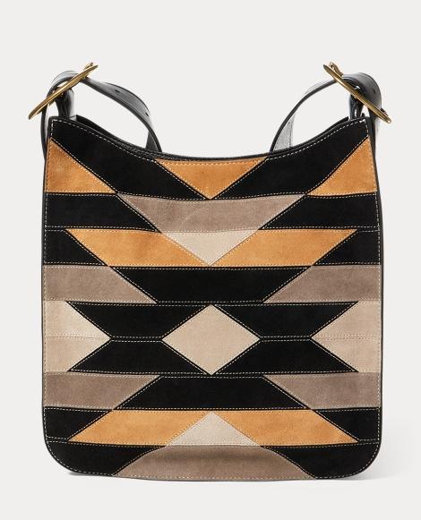 Patchwork Lennox Messenger Bag