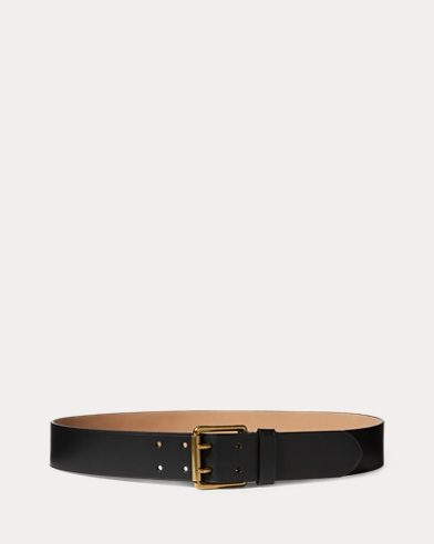 Double-Prong Leather Belt