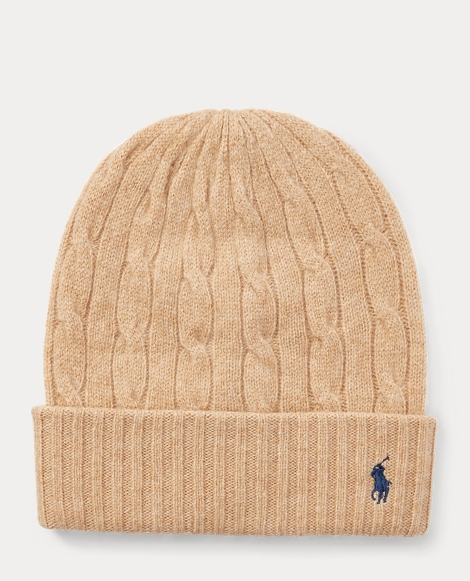 Cable Wool-Cashmere Hat