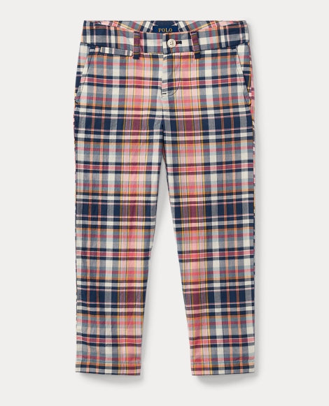 Cotton Madras Pant