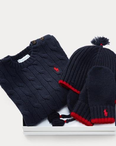 Sweater, Hat & Mittens Set