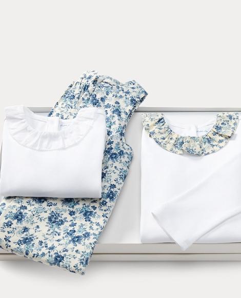 Cotton Coverall & Bodysuit Set