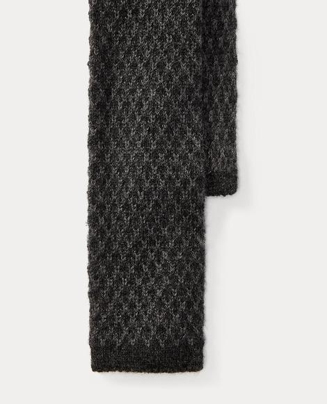 Knit Cashmere-Silk Tie