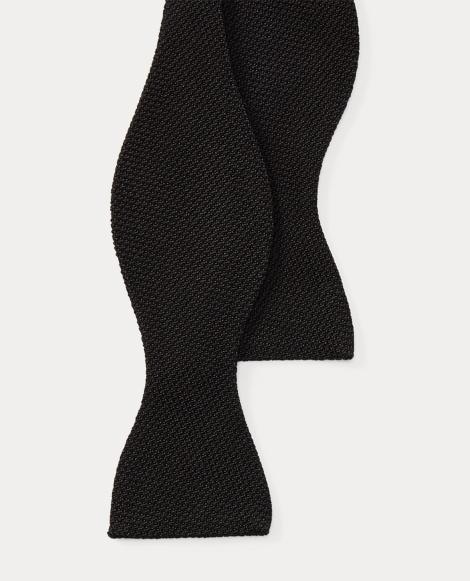 Wool-Silk Grenadine Bow Tie