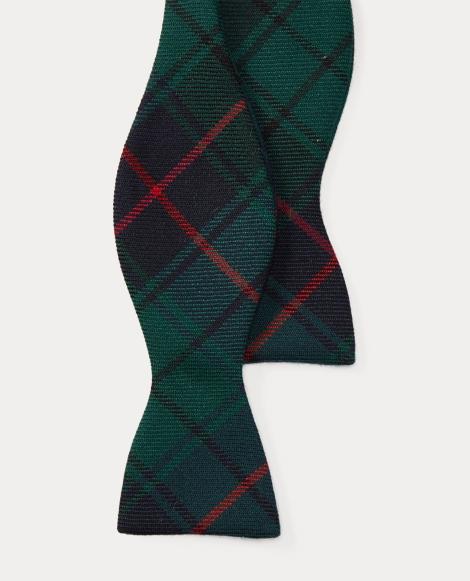 Tartan Wool Bow Tie